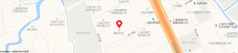 总部位置地图
